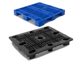 solid top plastic pallets. call us if you are looking for nested, solid top/solid bottom or any other variation of plastic pallets. we stock both new and used pallets can top a