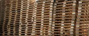 Stack of CP1 pallets